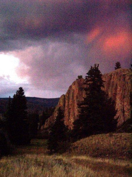 Red Bluffs sunset 2