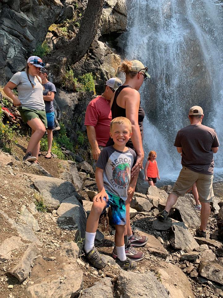 at Holland Falls